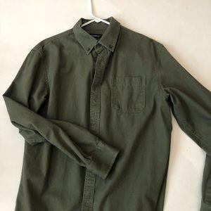 Croft & Barrow Olive LS Shirt